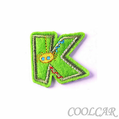 DIY Embroidered Motif Cloth Applique Iron On Patch Sew Clothing Decorations #K