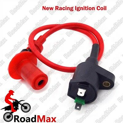 Scooter GY6 Racing Ignition Coil 50cc 125cc 150cc 139QMB 157QMJ Moped ATV