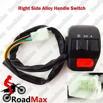 7/8'' Scooter Right Side Handle Switch Assy GY6 Moped 50cc 125cc 150cc