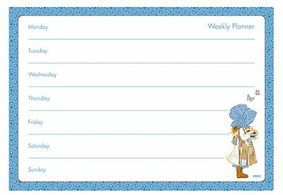 A4 Weekly Planner Holly Hobbie Design Tear Off Planner