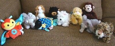 Webkinz Lil Kinz Stuffed Plush Animals Lot of 10 No Codes Plush Only