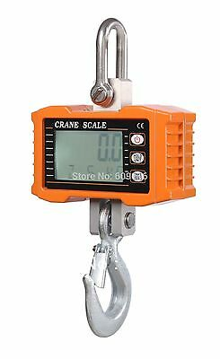 1000KG 1Ton 2000 LBS Digital Crane Scale Heavy Duty Hanging Scale OCS-S in USA