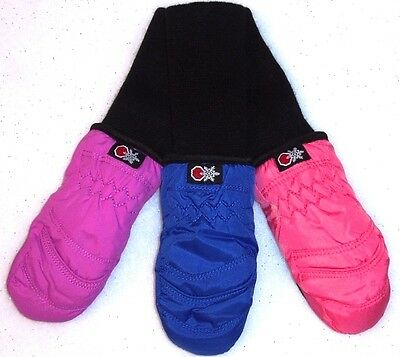 Clearance ~ SnowStoppers Xtra Small Toddler/Kids STAY-ON Nylon Mittens