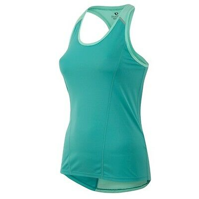 Pearl Izumi Women's Pursuit Singlet Running Workout Fitness Green Mint 12221601