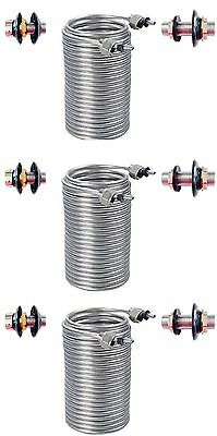 Build Your Kegerator Beer Jockey Box keg Triple Draw 70 Foot Coils Cooler Kit