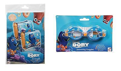 Official Disney Finding Dory Arm Bands & Goggles *NEW*