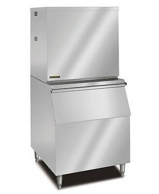New KOLD-DRAFT Modular Ice Machine 520Lb Stainless Steel Full Ice Cube GT560