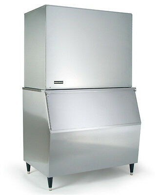 New KOLD-DRAFT Modular Ice Machine 1000Lb Stainless Steel Full Ice Cube GB1060