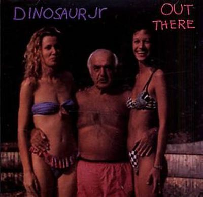 DINOSAUR JR.-Out There CDM (1993) Complete With Hype Sticker And 2 Stickers Blan