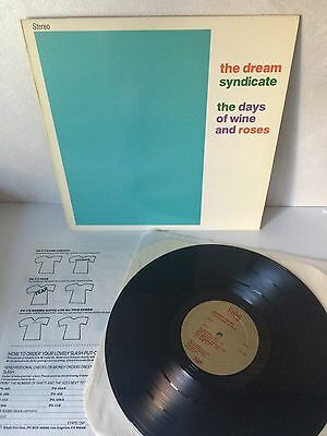 Dream Syndicate - The Days Of Wine And Roses LP Vinyl JRR807 Ruby/Slash (Opal)