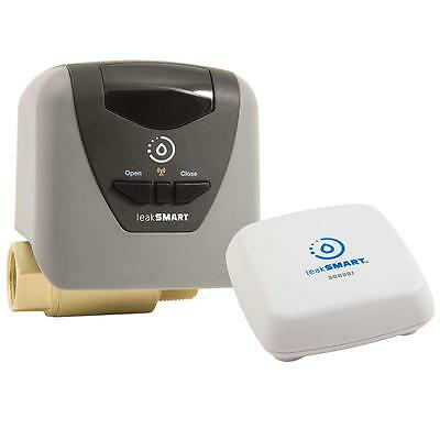 "LeakSMART Smart Home Kit with Automatic Water Shut-Off Valve (3/4""), Leak Sensor"