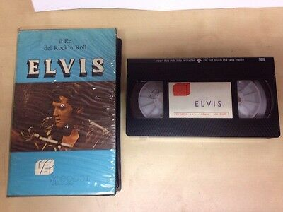 Elvis Presley Il Re Del Rock 'N' Roll VHS Videobox