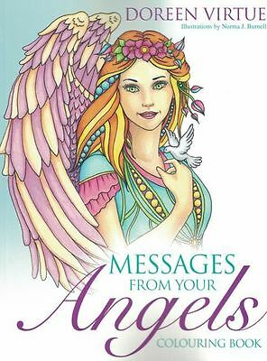 Messages From Your Angels Colouring Book by Doreen Virtue NEW