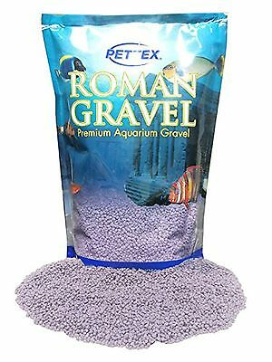 Premium Pettex Roman Gravel Aquatic Purple Aquarium Fish Tank Bowl Floor Decor