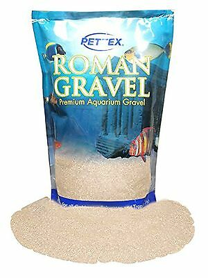 Pettex Roman Gravel Aquatic 2 Kg Pewter Sand Off-White Aquarium Fish Tank Floor