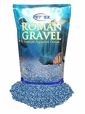 Premium Pettex Roman Gravel Aquatic Midnight Mix Aquarium Fish Tank Floor Decor