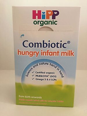 Hipp Organic Combiotic Hungry Infant Milk Powder from Birth Onwards 800g