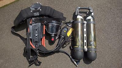 Drager Draeger PSS 100 Breathing Apparatus Set Complete