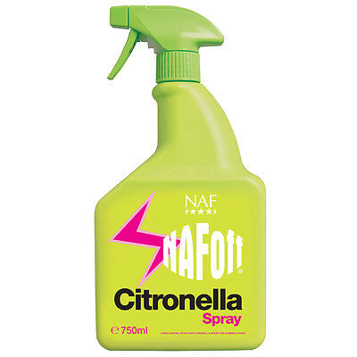 NAF Off Citronella Spray 750ml Long lasting, effective fly repellent  -FREE P&P
