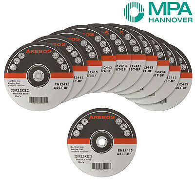 "50 x Metal Cutting Discs 1mm Ultra Thin 4.9"" 230mm Angle Grinder Disc Steel"