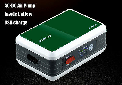 110~240v USB charge air pump inside battery outdoor fishing transmit 15 hours