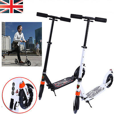 Pro Adult Urban Folding Suspension Town Commute Scooter Street Wheel 200mm Kick