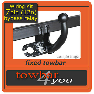 TOWBAR for VW Caddy / Life / Maxi 2004 On + Bypass Relay
