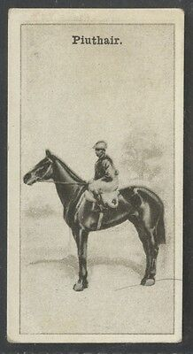 1928 W.D. & H.O. Wills New Zealand Race Horses #19 Piuthair