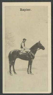 1928 W.D. & H.O. Wills New Zealand Race Horses #13 Rapier