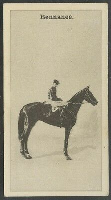 1928 W.D. & H.O. Wills New Zealand Race Horses #8 Bennanee