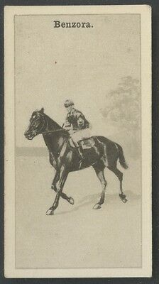 1928 W.D. & H.O. Wills New Zealand Race Horses #15 Benzora