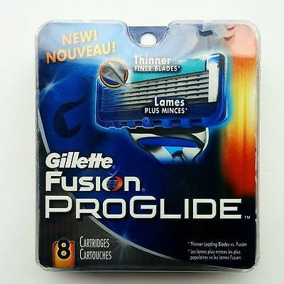 Gillette Fusion ProGlide - 8 Cartridges 100% Authentic - Brand New