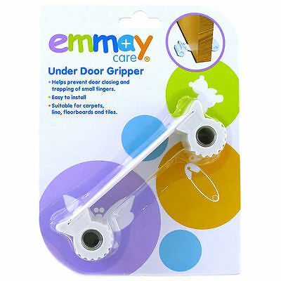 Emmay Care Under Door Gripper Stopper Child Safety Stop Stopper Baby Proof