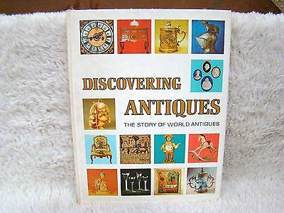 Vintage 1972 Discovering Antiques: The Story of World Antiques Hardback Book