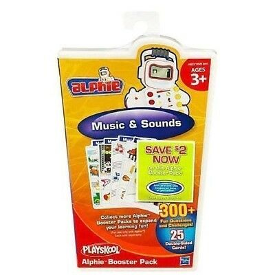 Playskool Alphie Booster Pack ‑ Music and Sounds