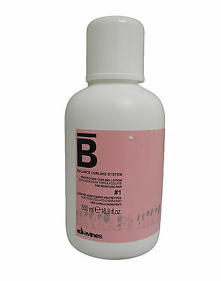 Davines Balance Curling System Protecting Curling Lotion #1 16.9 Ounce