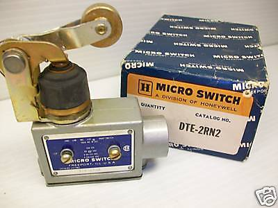 New Honeywell Dte-2Rn2 Micro Switch Microswitch Dte2Rn2  *** New In Box ***