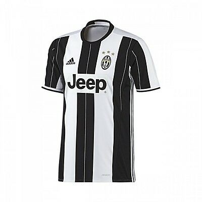 Camiseta adidas jr Juventus Home 2016-2017 White-Black