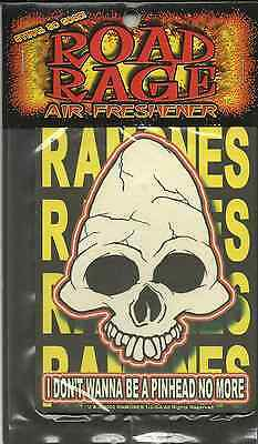 RAMONES pinhead 2002 AIR FRESHENER official merchandise SEALED usa IMPORT