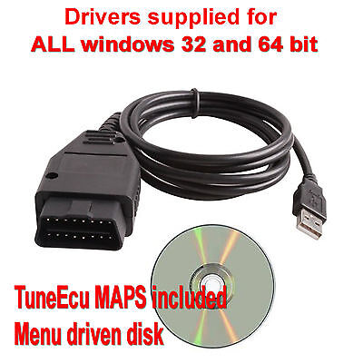 USB cable for Triumph Motorcycles TuneECU FTDI FT232RL Chip OBD II KTM Tune ECU