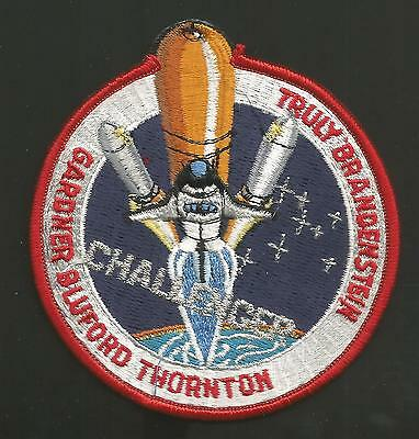 """Challenger Sts-8 Truly Space    Patch 3"""""""