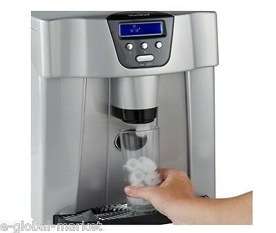 Digital Ice MAchine Maker & Dispenser LCD Display Counter Top Cold Drink Water