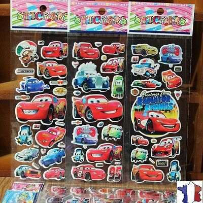 "stickers autocollant "" cars ,flash mcqueen "" neuf"