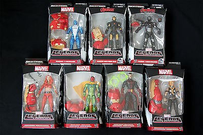 Marvel Legends Infinite Series Avengers Age Of Ultron Hulkbuster Set Of 7 Figure
