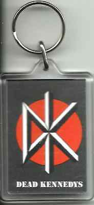 DEAD KENNEDYS dk logo - ACRYLIC KEYCHAIN official merchandise IMPORT