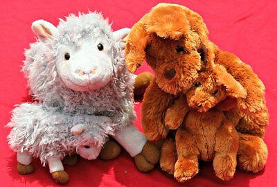 ANIMALS WITYH BABIES - KOHLS CARES Plush LOT- Cute Critters!