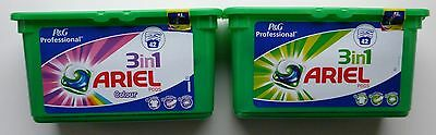 ARIEL - 3-in-1 Laundry Washing Liquid 42 Pods Tub (White or Colour)
