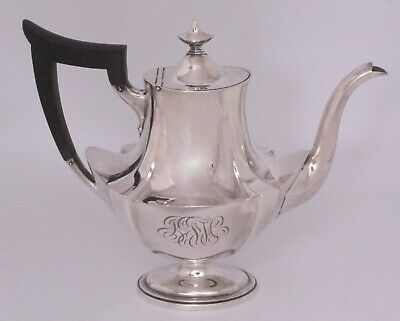 Gorham Plymouth Sterling Silver Individual Coffee Pot 1915 Date mark