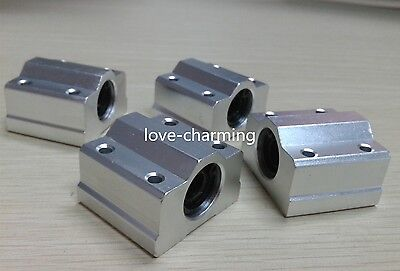 4 Pcs 12 mm SC12UU Router Motion SCS12UU Linear Ball Bearing SC Series CNC Block