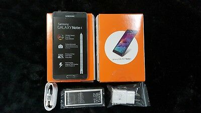 New Samsung Galaxy Note 4 SM-N910A GSM Unlocked AT&T 4G LTE 32GB - Black. Shadow